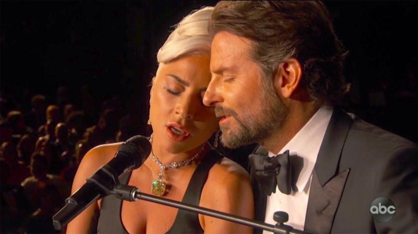 Lady Gaga Bradley Cooper Credit: ABC